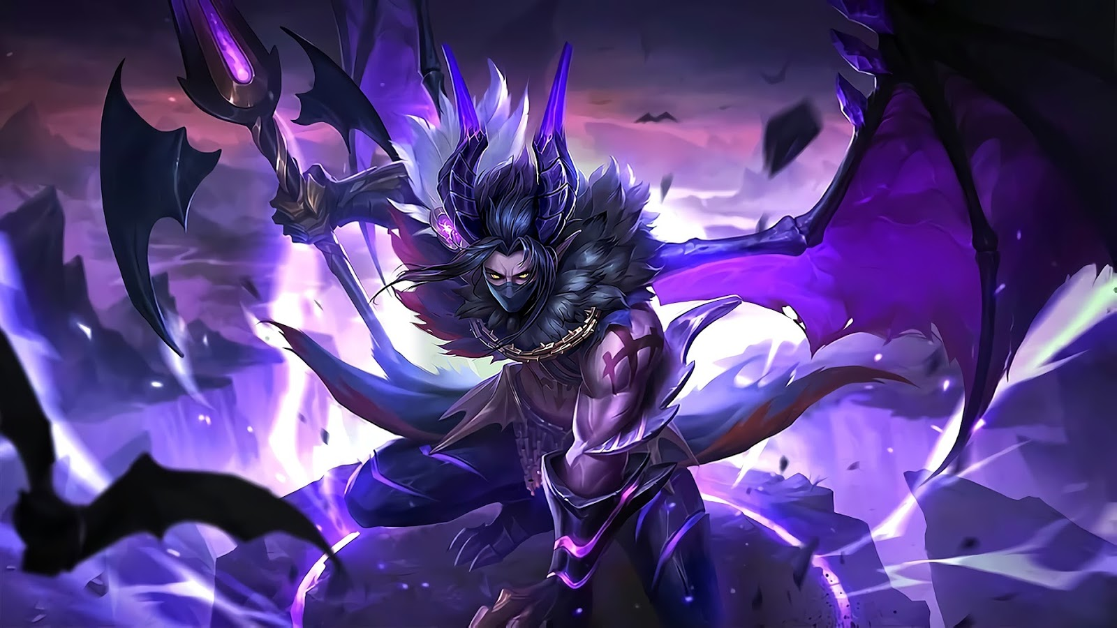 Wallpaper Moskov Twilight Dragon Skin Mobile Legends Full HD for PC