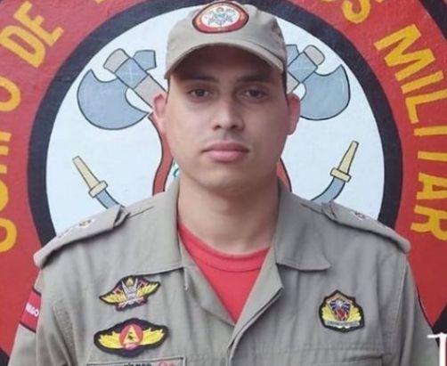 Tenente do Corpo de Bombeiros morre aos 28 anos vítima da Covid-19