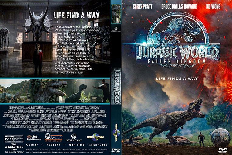 Jurassic World: Fallen Kingdom (2018) 720p BluRay x264