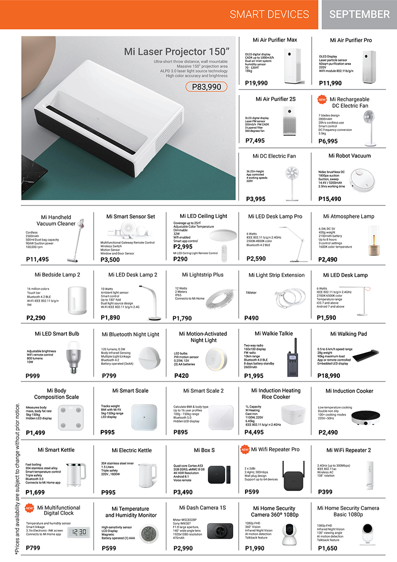 Xiaomi Product Catalog Page 5