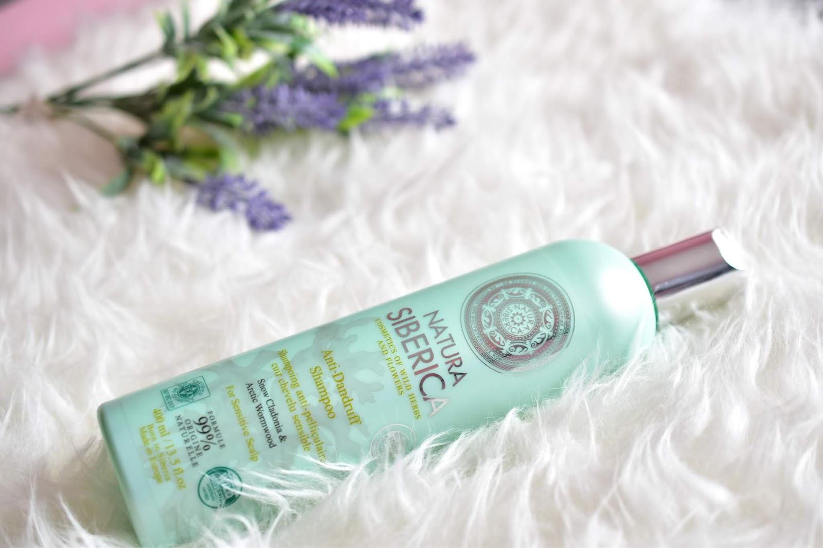 natura siberica šampón proti lupinám