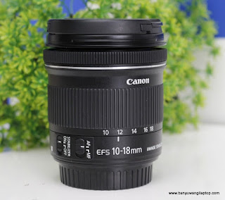 Jual Lensa Wide Canon 10-18 STM - banyuwangi