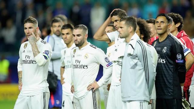 Dalam 18 Tahun, ini Adalah Kekalahan Pertama Real Madrid di Final Kontinental