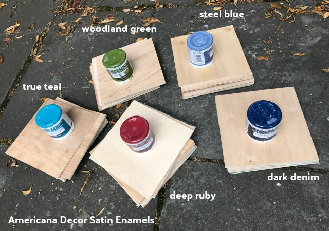 decoart satin enamel paints