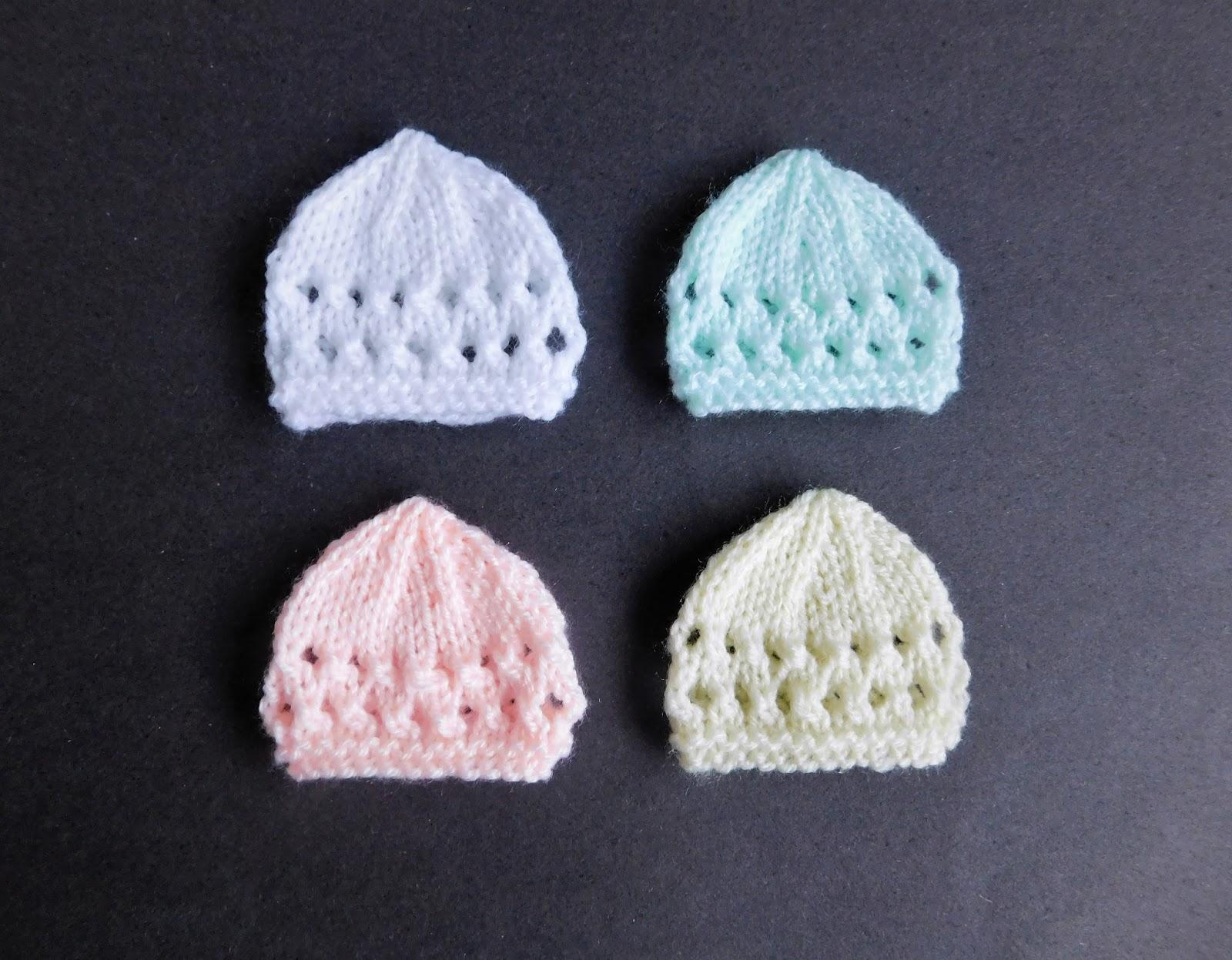 Marianna\'s Lazy Daisy Days: Micro - Preemie Baby Hats