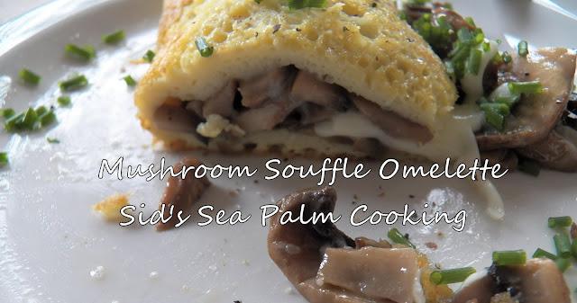 Mushroom Souffle Omelette