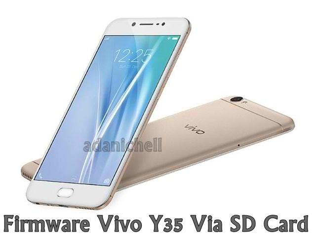 Firmware Vivo Y35 Via SD Card