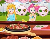 لعبة بائعة البيتزا