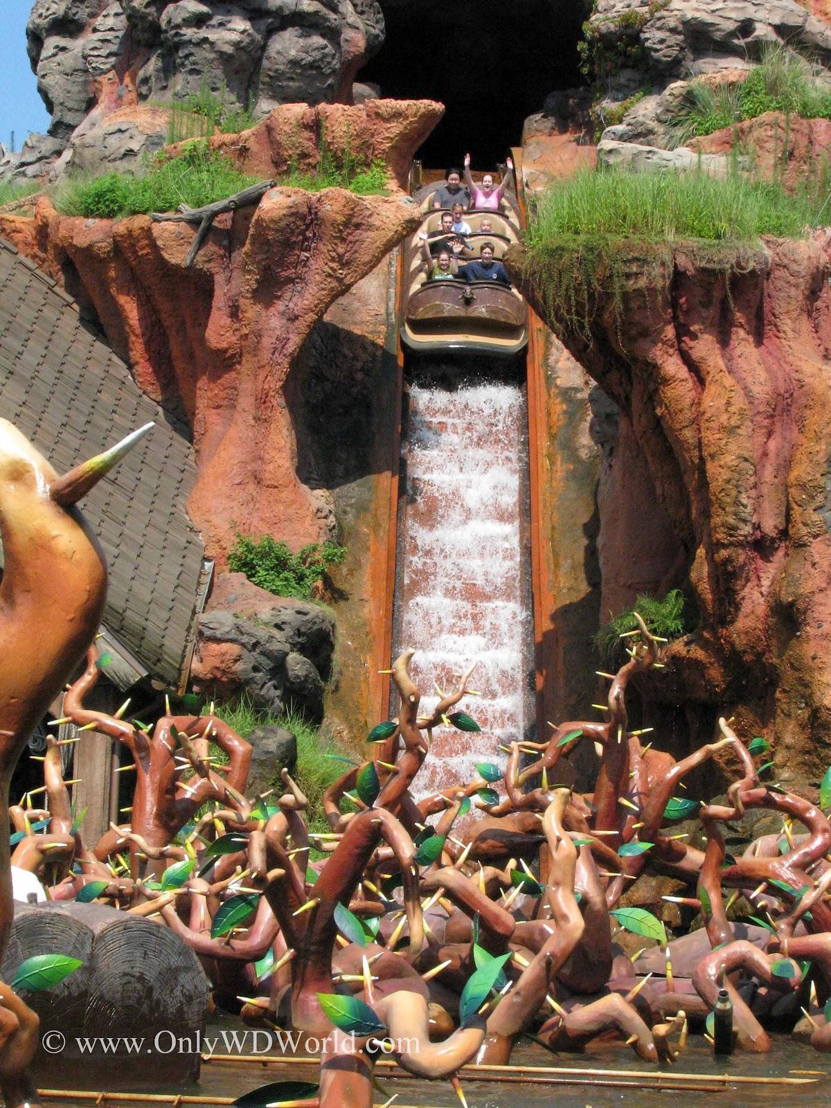Disney World E-Ticket Attraction: Splash Mountain | Disney ...
