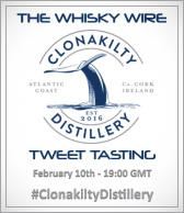 Clonakilty Distillery Tweet Tasting
