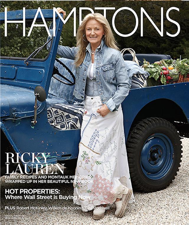 Ricky Lauren Hamptons Magazine