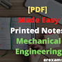 [PDF] Made Easy Printed Notes for Mechanical Engineering
