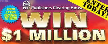 You could win $1Million PCH Superprize