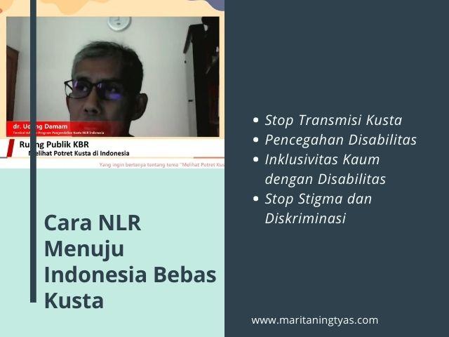 peran NLR dalam bebas kusta