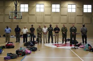 Veterans Day White Table Presentation 2