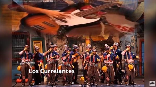 """Presentación con Letra Comparsa """"Los Currelantes"""" de Jesús Bienvenido Saucedo (2011)"""