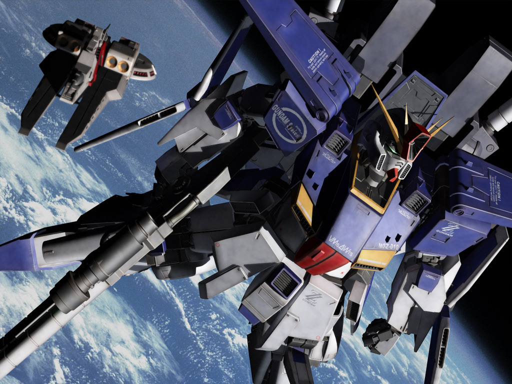 Wallpaper Zz Gundam Wallpaper