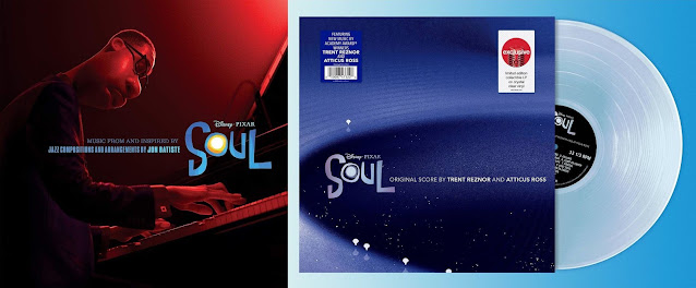 Pixar Soul Soundtracks on Vinyl