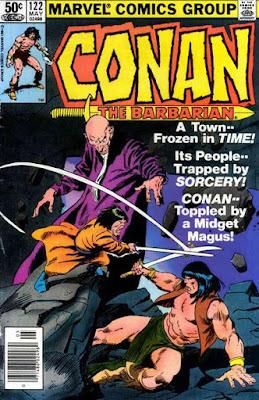 Conan the Barbarian #122