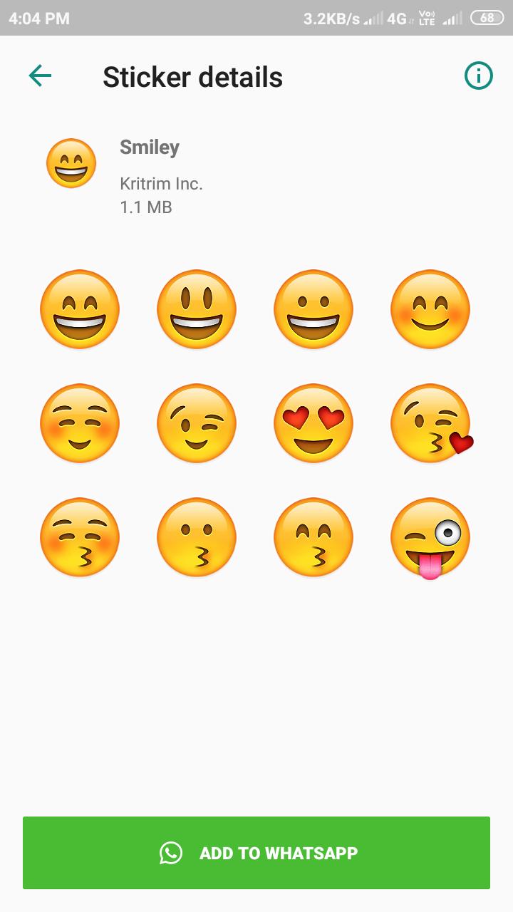 Stickers for Whatsapp Emojis Ads free mod