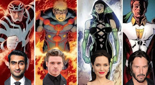 Keanu Reeves can star in Angelina Jolie, Richard Madden and Kumail Nanjiani in Marvel's The Eternals.