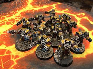 Imperial Fists Terminators 30k Horus Heresy