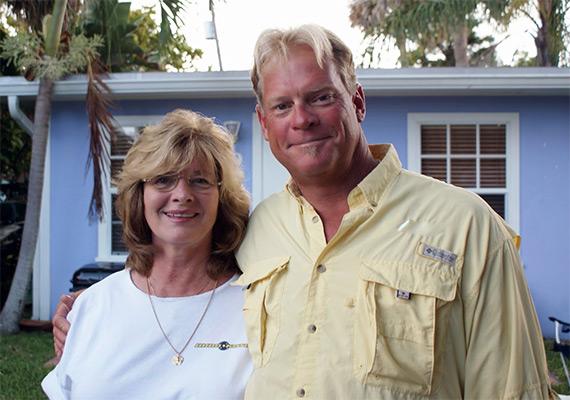 Capt Blair Wiggins and Mom