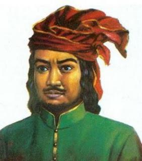 Biografi Sultan Hasanuddin  Sultan Hasanuddin lahir di Makassar, Sulawesi Selatan, 12 Januari 1631 dan meninggal di Makassar, Sulawesi Selatan, 12 Juni 1670 pada umur 39 tahun, adalah Raja Gowa ke-16 dan pahlawan nasional Indonesia yang terlahir dengan nama I Mallombasi Muhammad Bakir Daeng Mattawang Karaeng Bonto Mangepe. Setelah memeluk agama Islam, ia mendapat tambahan gelar Sultan Hasanuddin Tumenanga Ri Balla Pangkana, hanya saja lebih dikenal dengan Sultan Hasanuddin saja. dia diangkat menjadi Sultan ke 6 Kerajaan Gowa dalam usia 24 tahun (tahun 1655).   Gowa merupakan kerajaan besar di wilayah timur Indonesia yang menguasai jalur perdagangan. Pada tahun 1666, di bawah pimpinan Laksamana Cornelis Speelman, Kompeni berusaha menundukkan kerajaan-kerajaan kecil, tetapi belum berhasil menundukkan Gowa. Di lain pihak, setelah Sultan Hasanuddin naik takhta, ia berusaha menggabungkan kekuatan kerajaan-kerajaan kecil di Indonesia bagian timur untuk melawan Kompeni.  Konfrontasi Belanda-Hasanuddin menyulut perang terbuka di antara kedua kekuatan tersebut. Pada tahun 1633, Belanda mengepung pelabuhan Makasar dengan jalan blokade dan sabotase, tetapi sia sia. Sebab kekuatan pasukan Sultan Hasanuddin mampu mendobrak blokade itu dan mematahkan semua sabotase yang dilakukan Belanda.Kegagalan ini mendorong pihak Belanda mengadakan damai dengan Sultan. Kemudian pada tahnn 1654 sekali