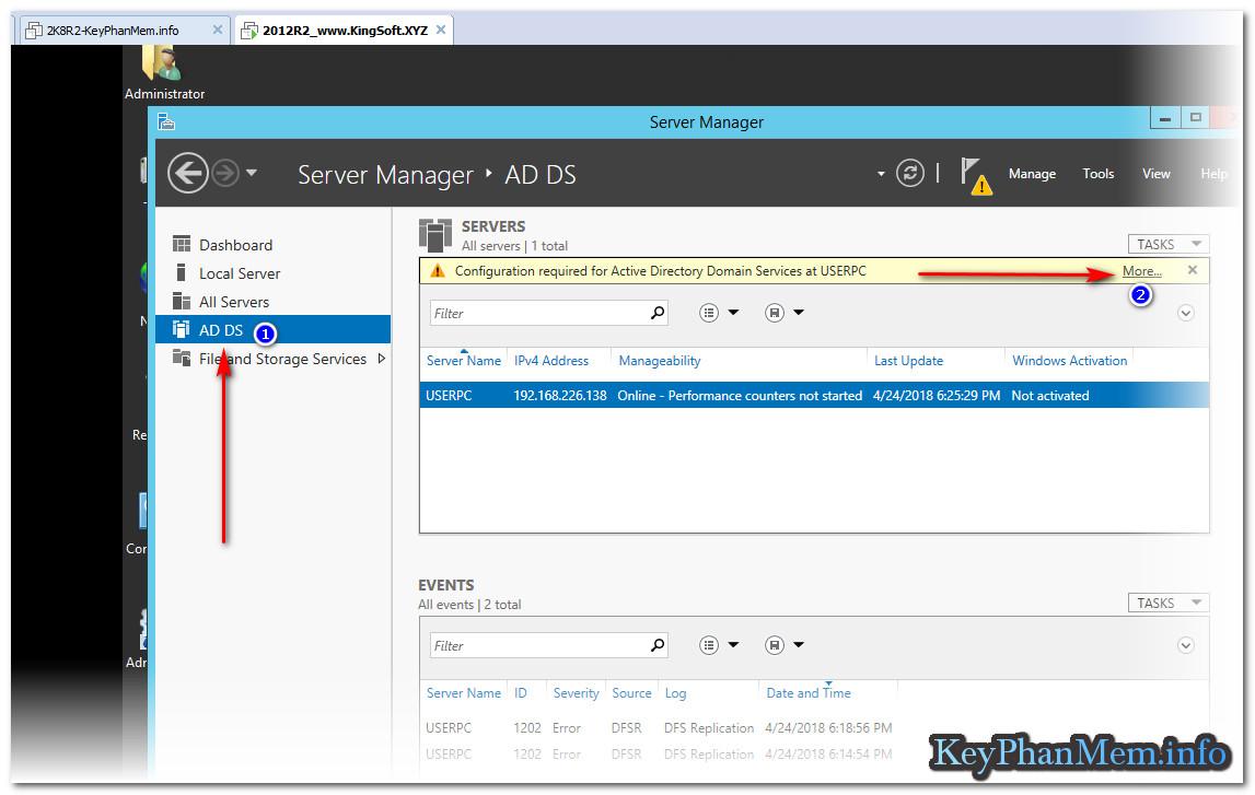 Hướng dẫn tạo Domain Controller trên Windows Server 2016