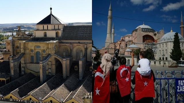 Presiden Amerika Serikat Donald Trump dan sejumlah negara lainnya kecewa atas keputusan Presiden Turki Recep Tayyip Erdogan mengubah Hagia Sophia sebagai masjid.