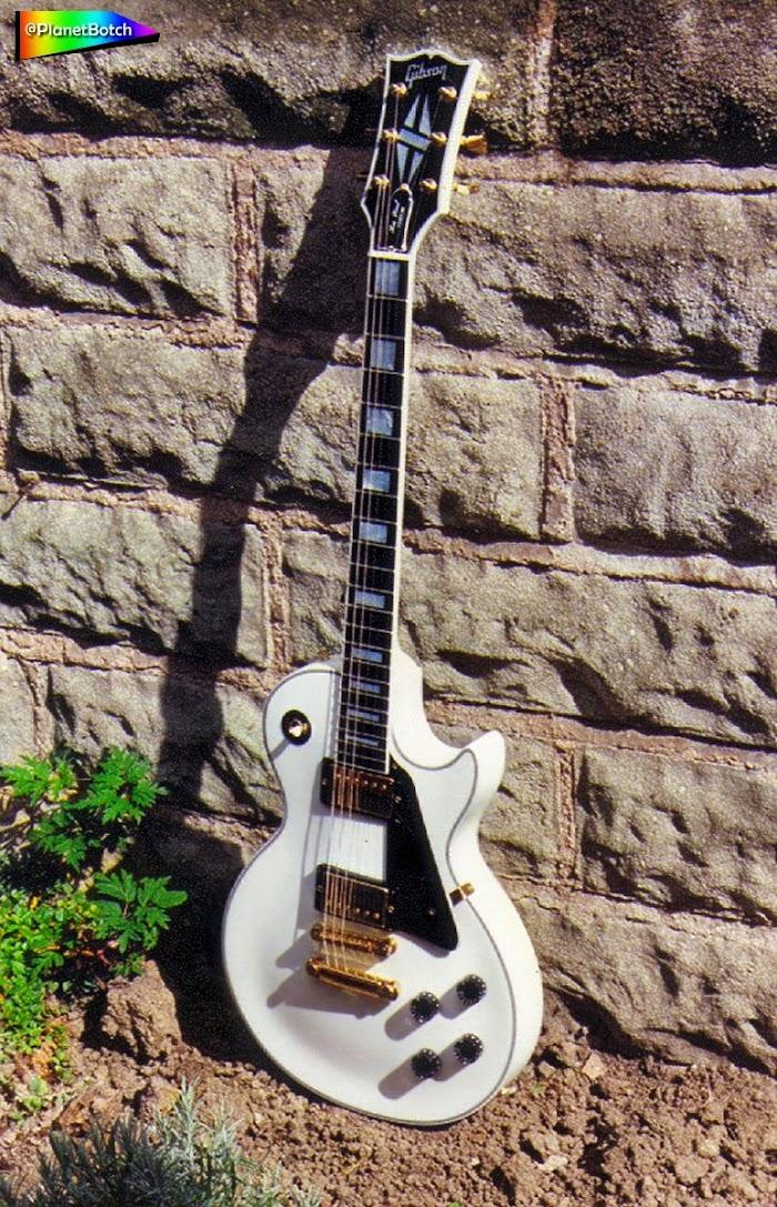 1990 Gibson Les Paul Custom - white