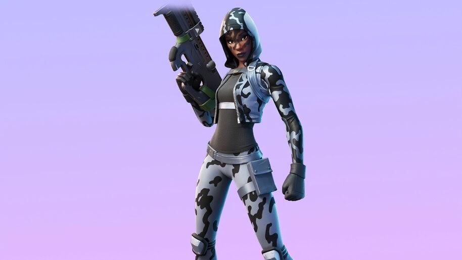 Snow Sniper, Fortnite, Skin, Outfit, 4K, #7.896