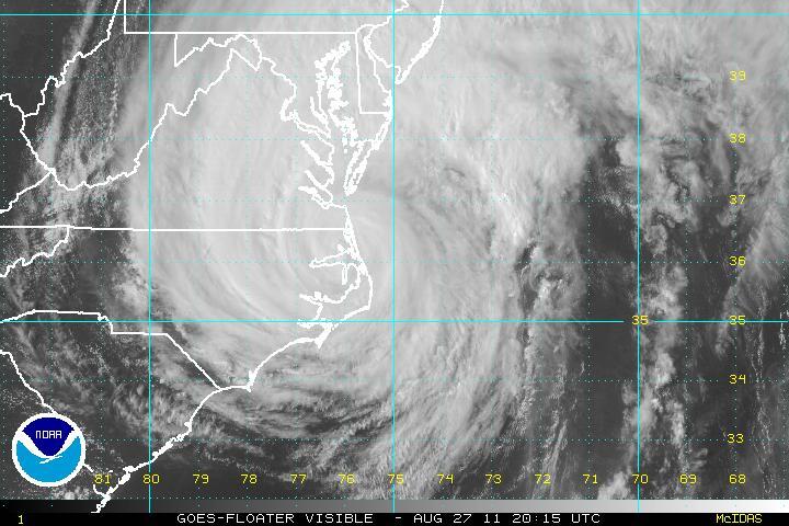 The Original Weather Blog: Updated Hurricane Irene Impacts