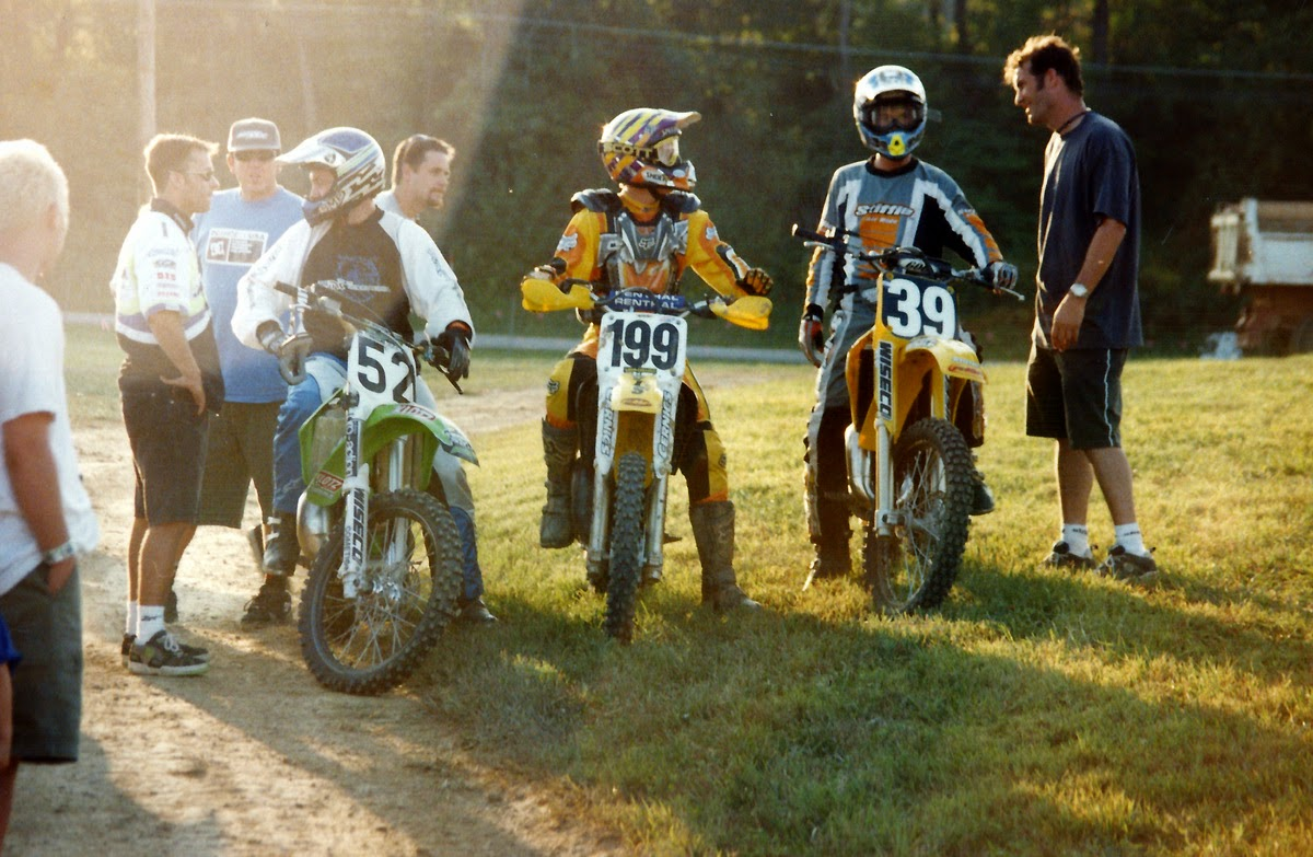 Mike Jones Travis Pastrana Jeff Wiloh Davey Coombs