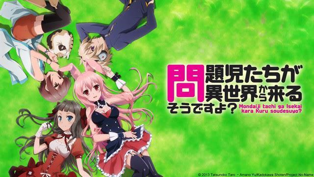 Problem children are coming from another world, aren't they? - Top Anime Like Konosuba (Kono Subarashii Sekai Ni Shukufuku Wo)