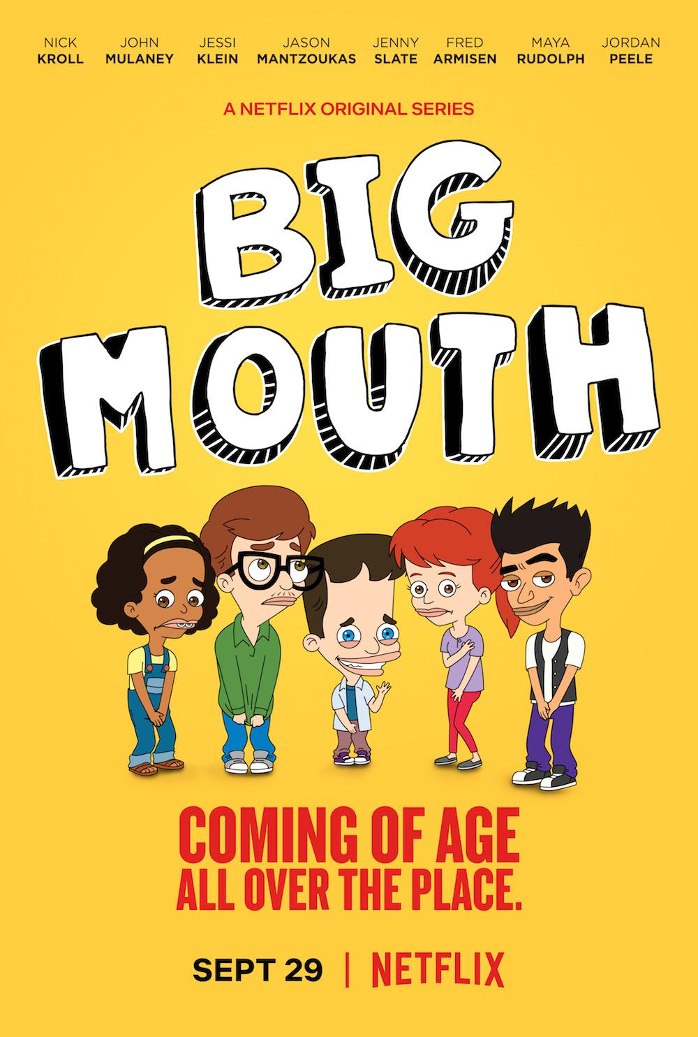 Big Mouth (2017- ) ταινιες online seires oipeirates greek subs