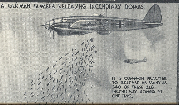 27 July 1940 worldwartwo.filminspector.com The Illustrated London News incendiary bombs