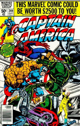 Captain America #249, Machinesmith