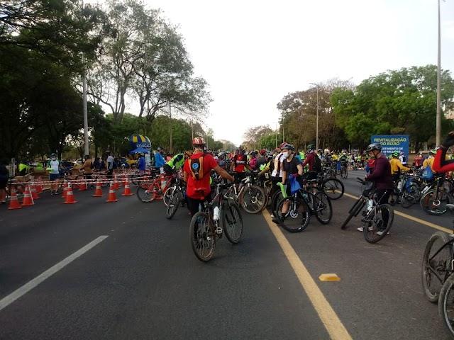 DER/DF - A partir de hoje 4 mil ciclistas pedalam com mais segurança