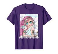 anime doodle dreamer girl
