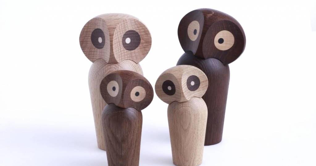 Les petites m des oiseaux en bois design - Objet anti stress bureau ...