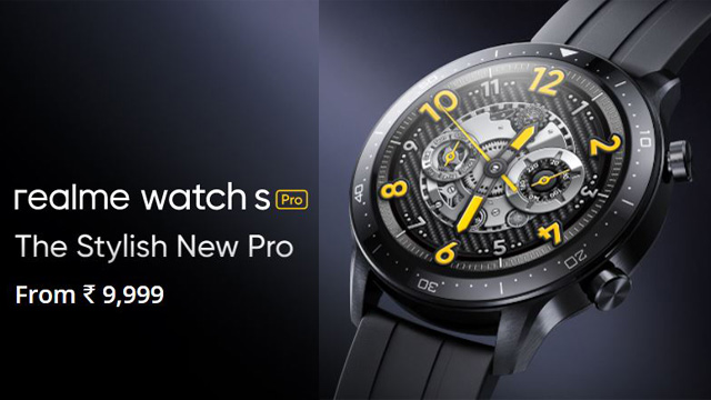 Realme Watch S Pro Features, Specs, Price in India