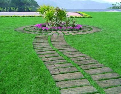 How To Make a Garden Stone Path With Gravel 5