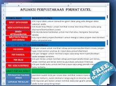 Aplikasi Perpustakaan Sekolah Format Excel - Sekolah Kita