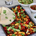 Tofu 'Chickn' & Vegetable Fajita Tray Bake
