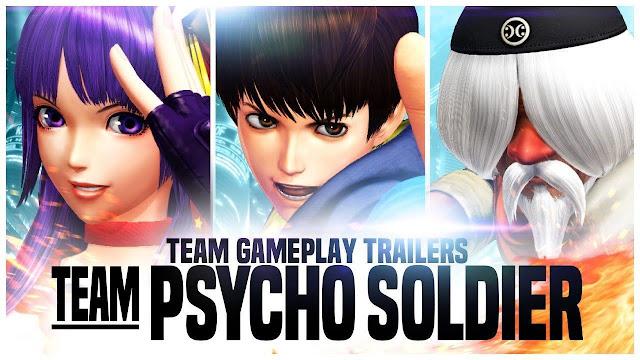 A SNK e a Atlus divulgaram um vídeo apresentando a equipe Psycho Soldier. Game chegará para Playstation 4 em agosto.