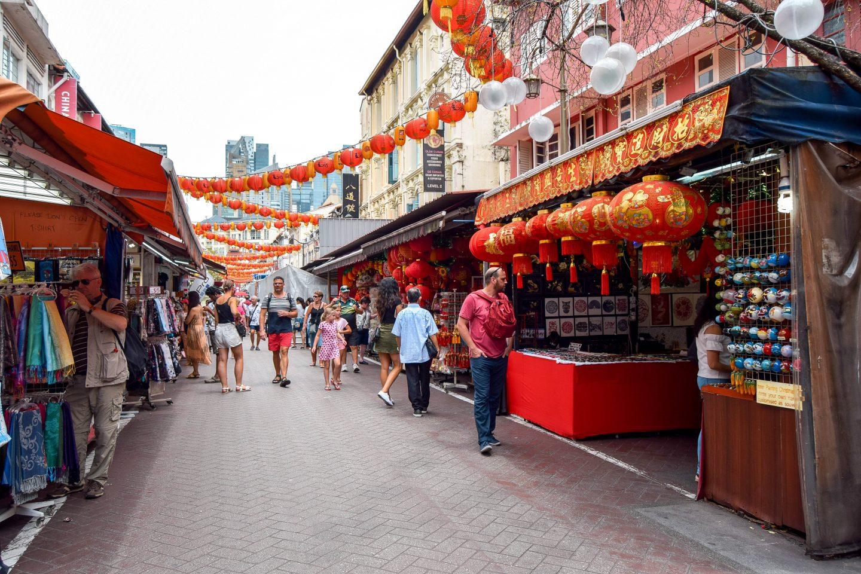 Китайский квартал Сингапура