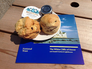The White Cliffs of Dover scones