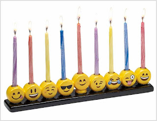 Happy Hanukkah Emoji 2020
