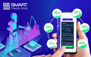 Приложение Smart Trade Coin. Picture.